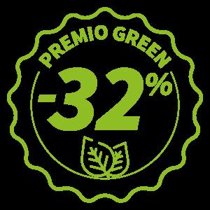 Premio Green - Sconto 32% sul Mercato Tutelato