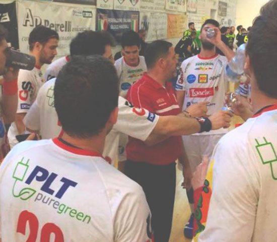 PLT puregreen Sponsor SSV Bozen Handball