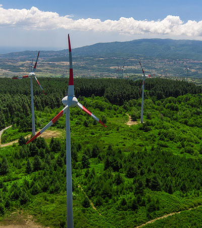 PLT energia - Impianto eolico Olivadi