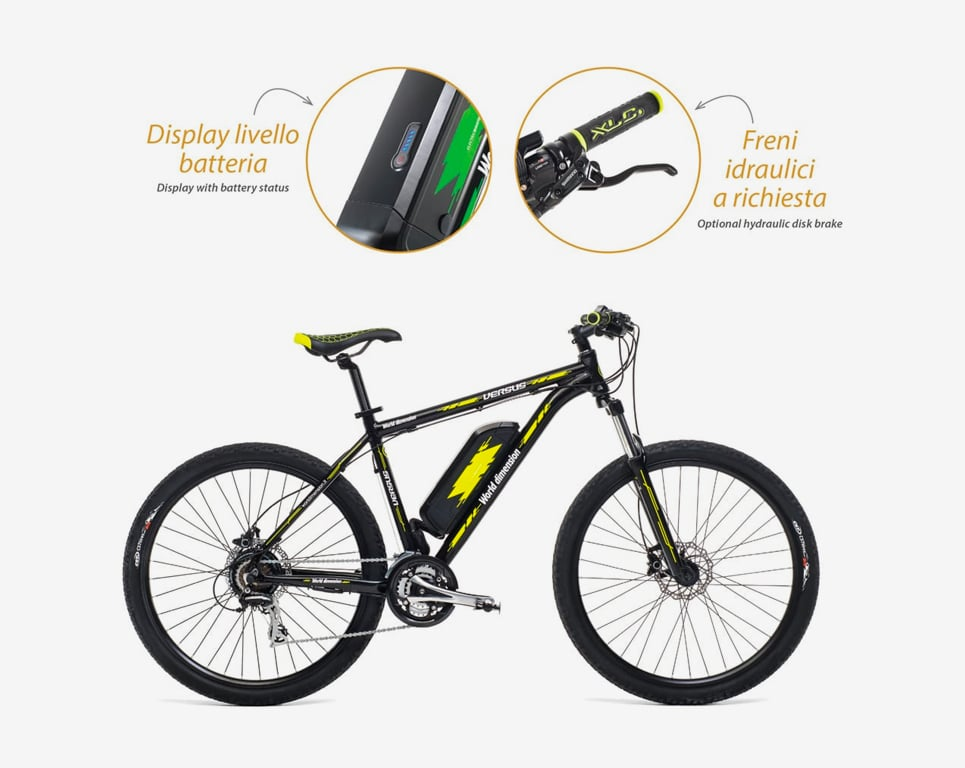 Bici Elettrica Perses Man - Dettagli