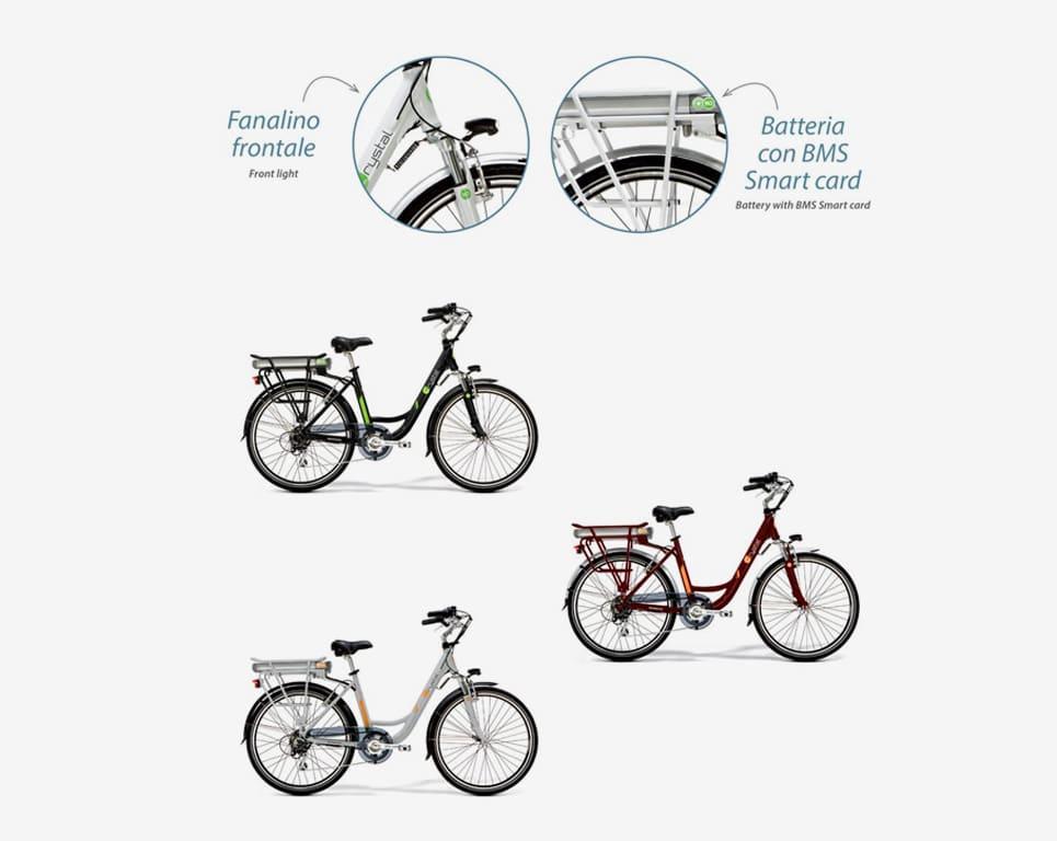 E-Bike Crystal - Dettagli
