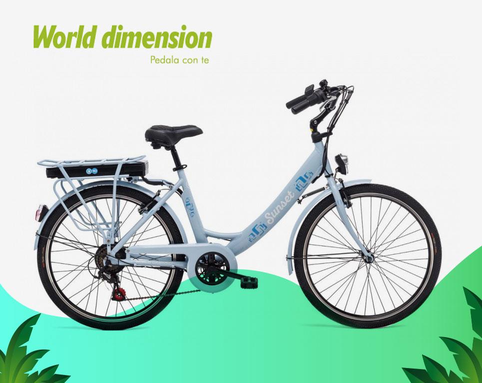 Sunset - Bici elettrica