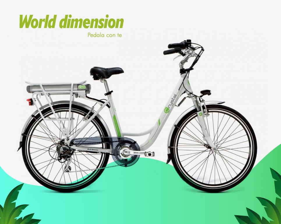 Crystal - Bici Elettrica