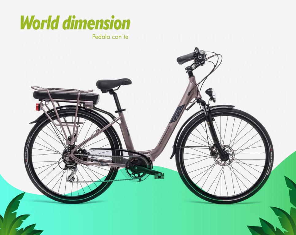 Glow Lady - Bici elettrica
