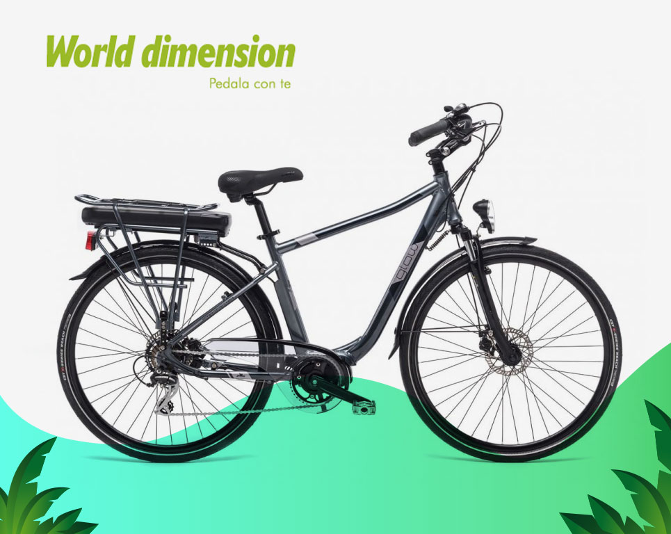 Glow Man - Bici elettrica